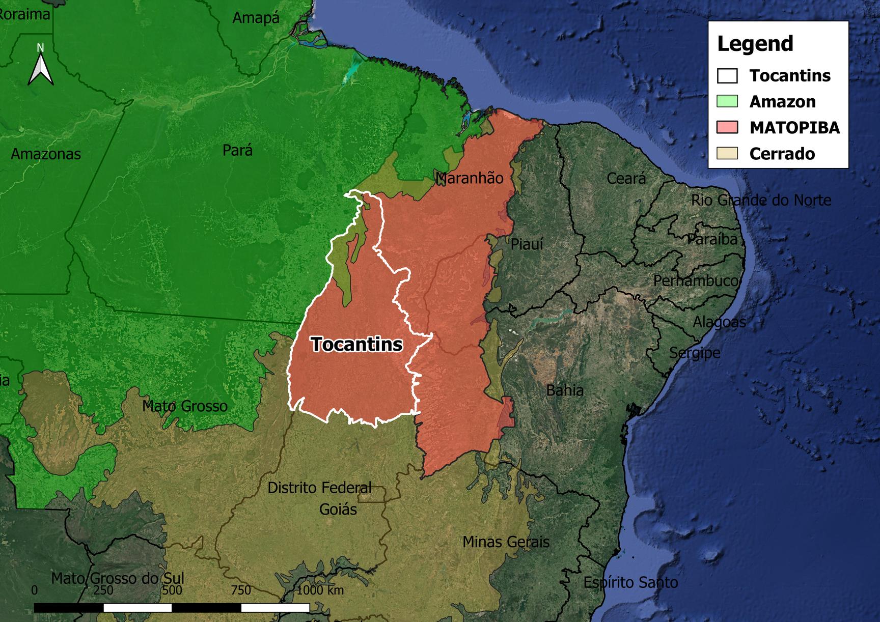 Araguaçu Tocantins fonte: chainreactionresearch.com
