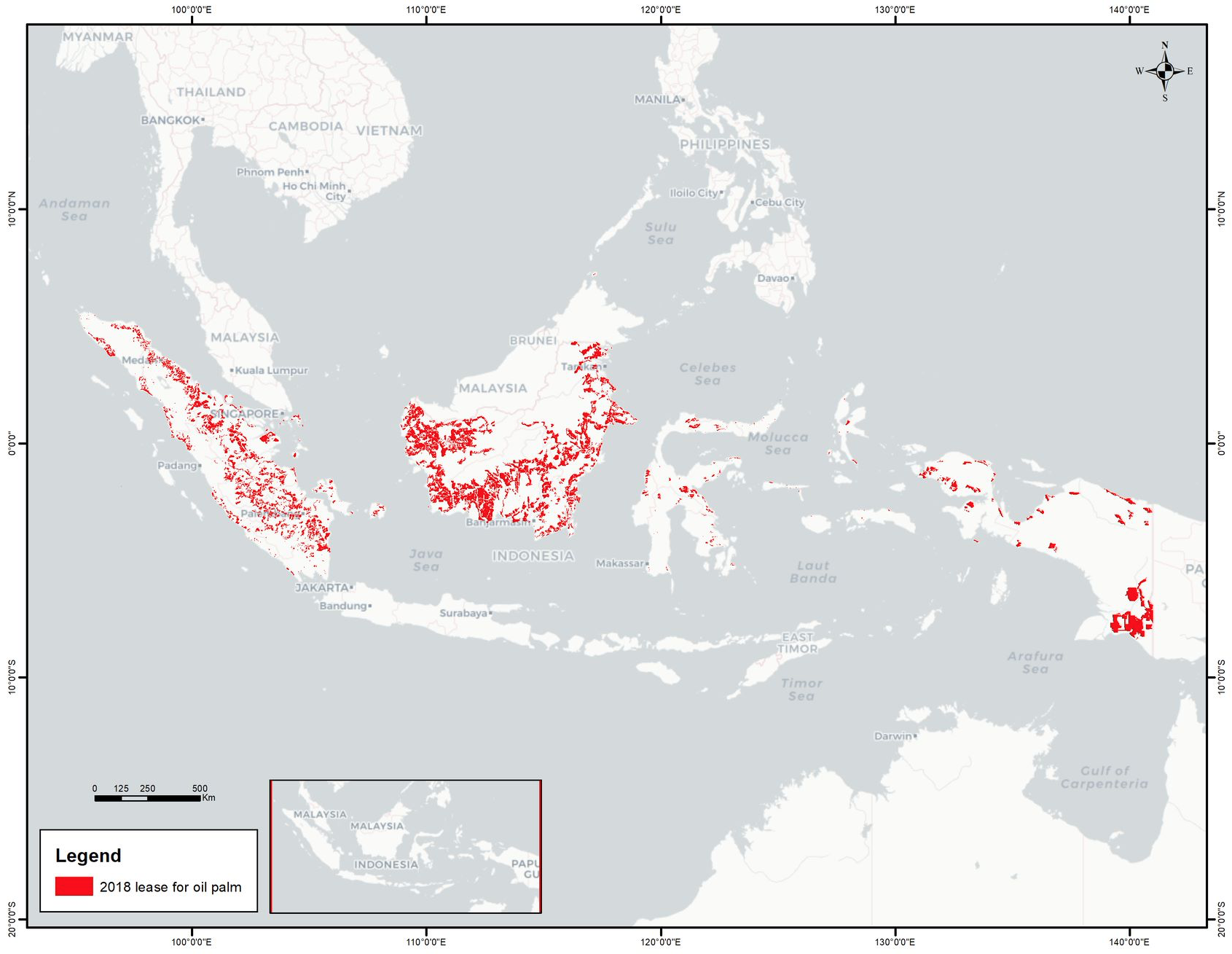 28 Percent of Indonesia's Palm Oil Landbank Is Stranded